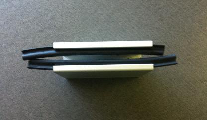 Doorsnee afbeeldign van de rails